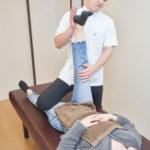 豊中メディカル整体院の腰痛治療 足のストレッチ